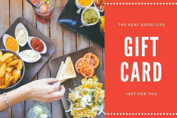 The Real Good life Gift Card