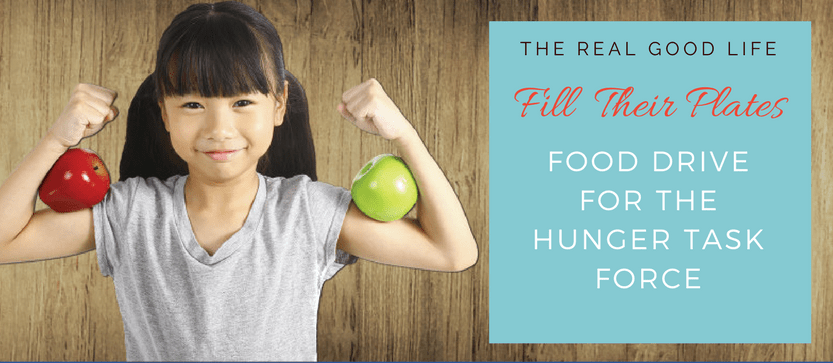 """Fill Their Plate"" Food Drive for the Hunger Task Force"