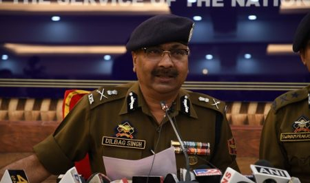 Dip In Locals Joining Militant Groups, More Efforts Needed To Check Unfortunate Trend : JK DGP Dilbag Singh