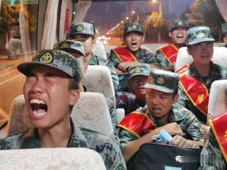 Fact Check : Viral Video of Chinese soldiers crying while heading to Ladakh border is TRUE