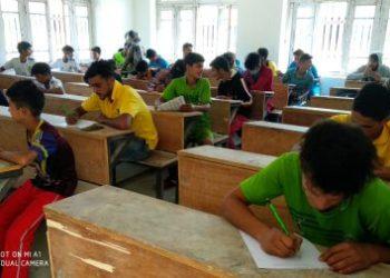 Army organizes essay writing competition was at Govt Middle School, Dewar