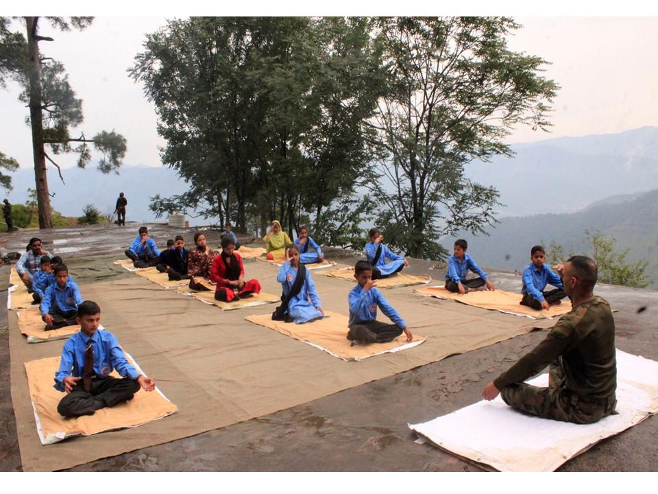 Opinion | Yoga for Body, Mind & Soul, Message To Awaam By Krishna Ghati, Brigade