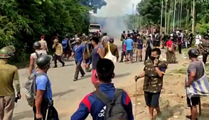 Six Assam cops killed, 80 hurt in border clash with Mizoram