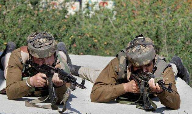 1 killed in a gunfight that broke out between militants and security forces at Aharbal area of South Kashmir's Kulgam