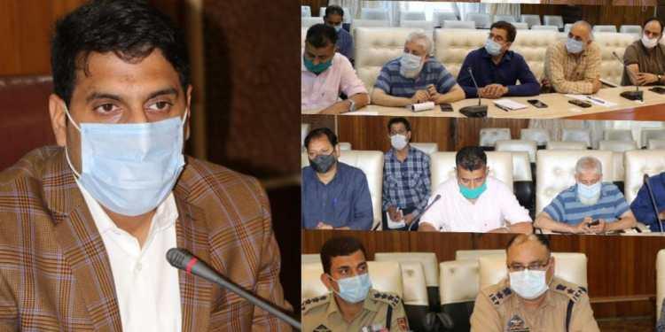 DC Srinagar reviews ensuing Muharram-Al-Haram arrangements