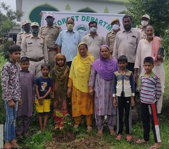 "Sunderbani Forest Range conducts plantation drives under ' 1 beat guard 1 village"" programme"