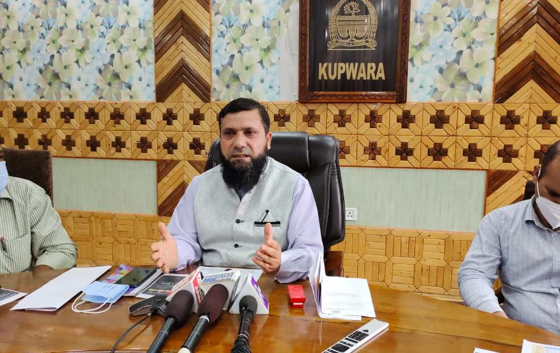 DC Kupwara Expresses satisfaction over recovery rate