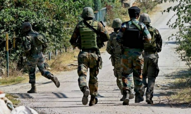 Militant killed in an encounter which ensued Between militants and security forces in Munand Kulgam, Searches Continue