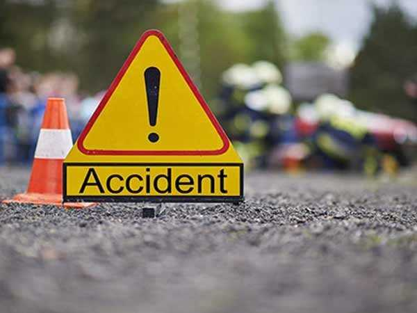 Nine injured after a load carrier vehicle skids off the road and rolled down at Wusan area of Kangan