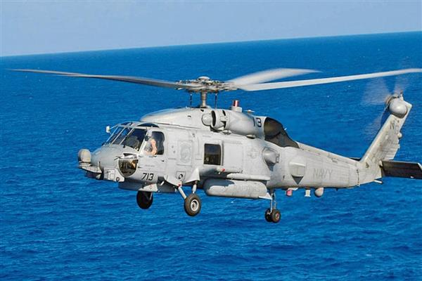 Indian Navy gets two MH-60R multi-role helicopters from US