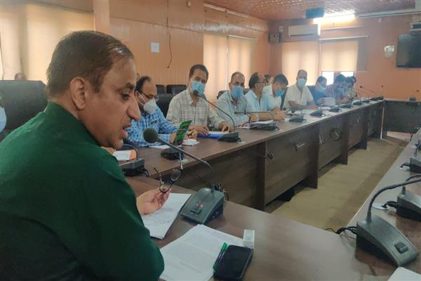 DG Horticulture Visits Pulwama and informed State-of-art soil testing lab to come up in Pulwama