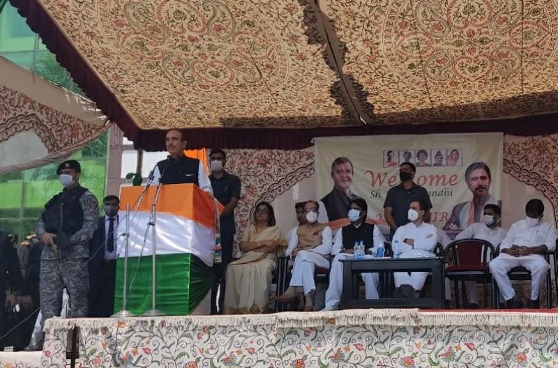 J&K's statehood should be restored before holding assembly polls: Azad