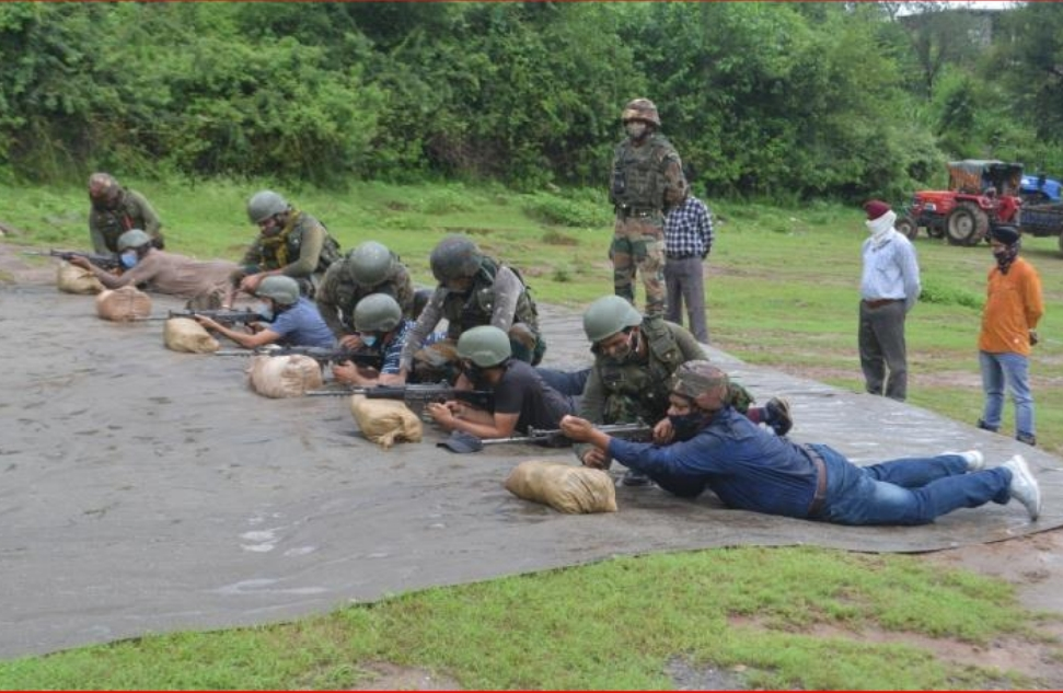 Village Defence Committee (VDC) Members Showcase their Skill at Mendhar