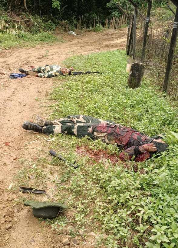 Two BSF Personnel killed in Tripura NLFT Militant Ambush