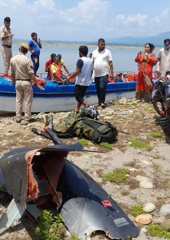 Pilot, Co-Pilot Feared Dead As Army Helicopter Crashes Into Ranjit Sagar Dam In Kathua