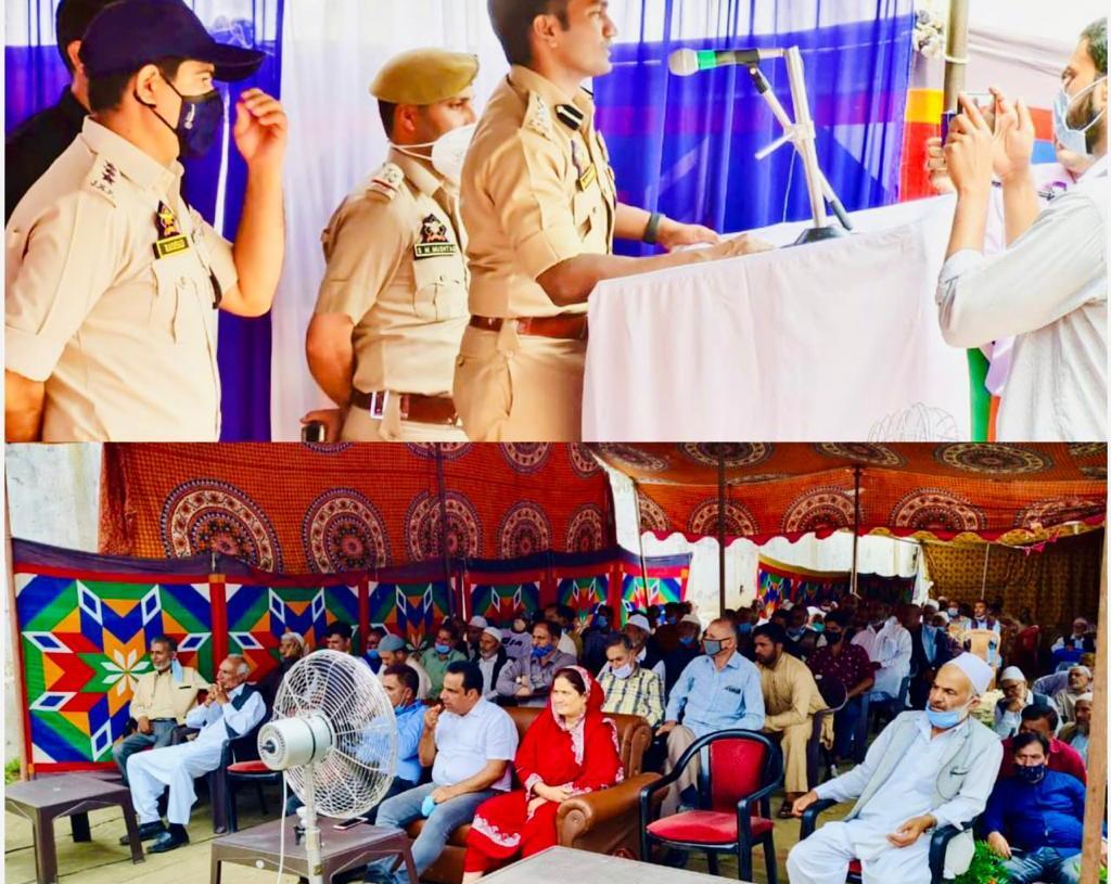 Kupwara Police held A police community partnership group meeting (PCPG) at police Post Dragmulla.