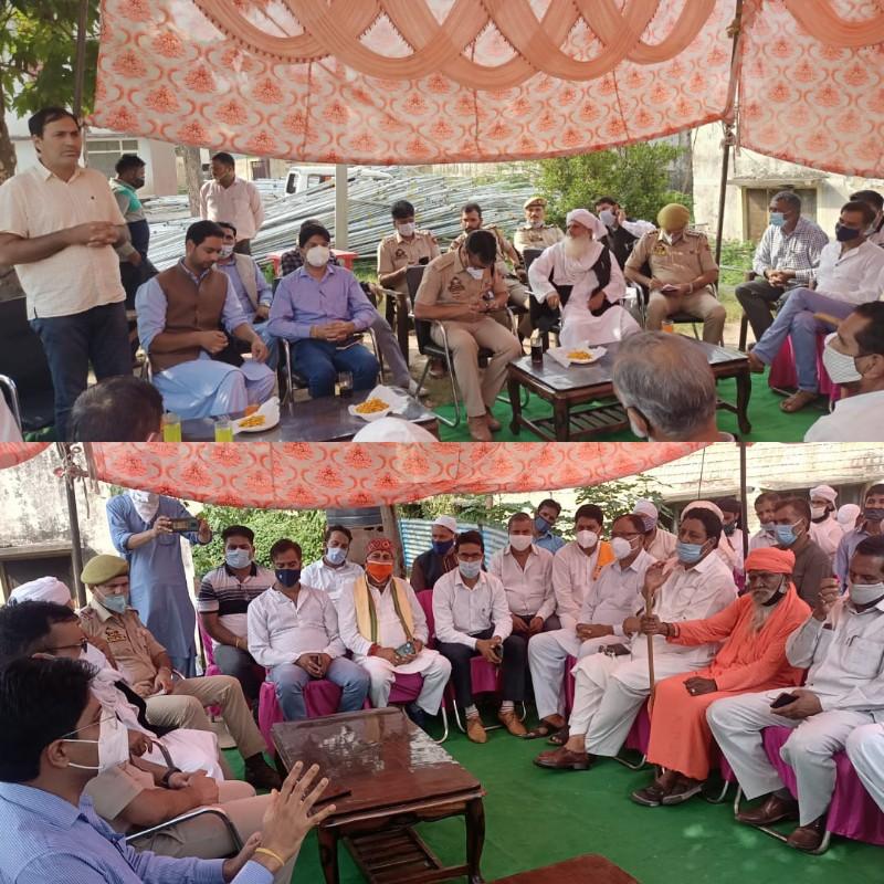 Police-public meet held at Mendhar