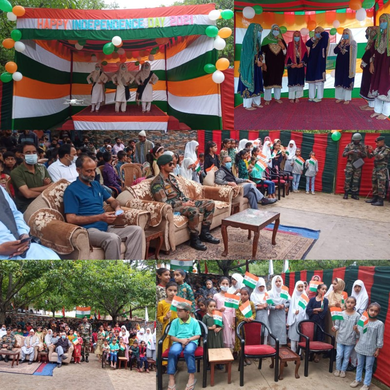 47 RR BN (BIHAR) Organise 75th Independence Day at Chakkigam