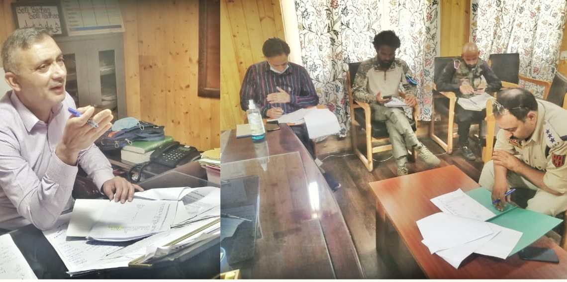 ADC Chairs DLSCC Meeting in Bandipora