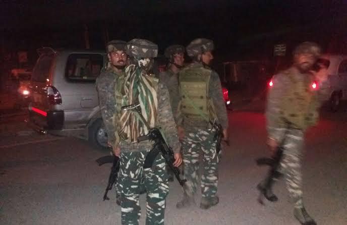 Terrorist lobbed a Grenade towards the CRPF bunker in Safa-Kadal area of Srinagar, no injury reported