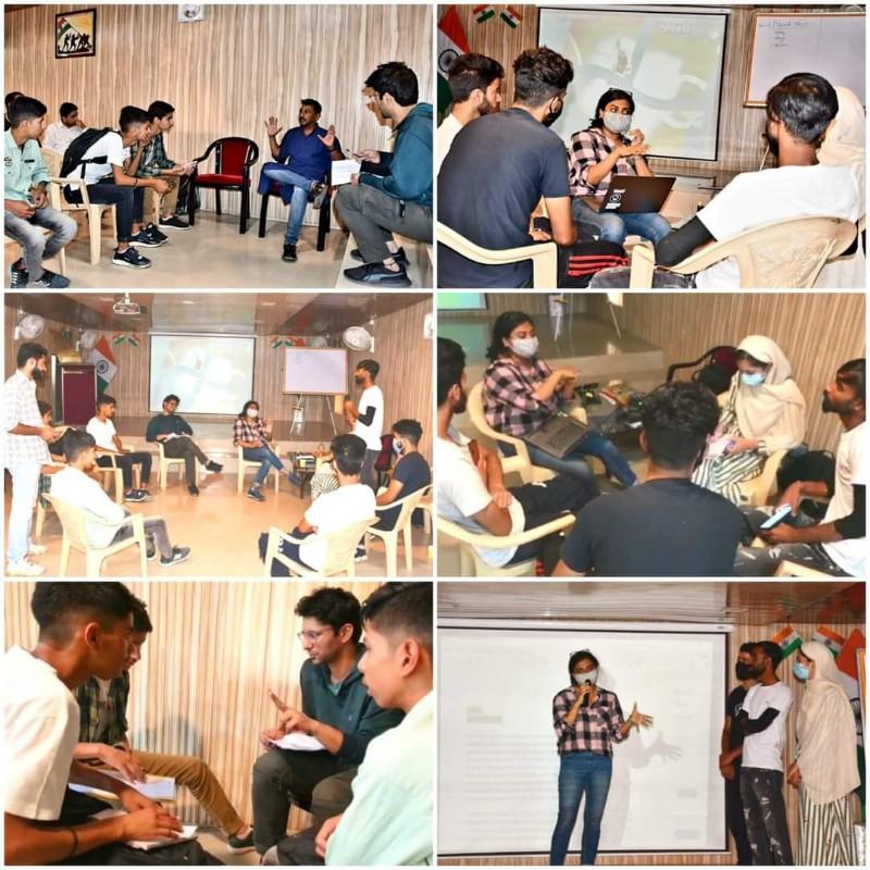"Workshop on ""Short Film Making"" for Kashmiri Youth By Mr Onir : 27-31 August 2021"