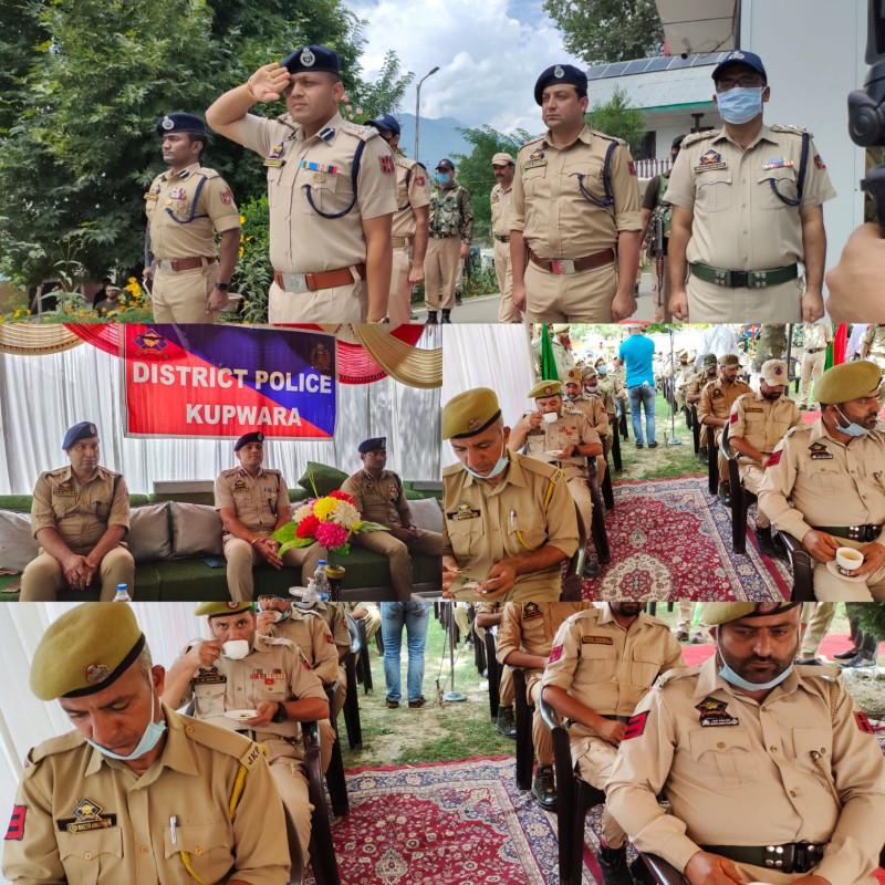 DIG NKR visited Kupwara, Chairs officers meeting, Reviews Security Scenario and held Darbar with Jawans