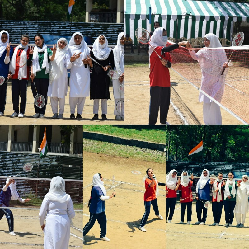 Army Awaam and Administration jointly organise Girls Badminton championship in Boniyar