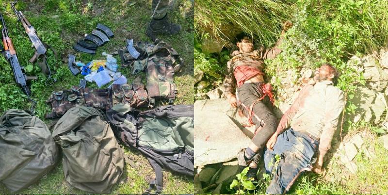Two militants killed in a Rajouri Gunfight: Army
