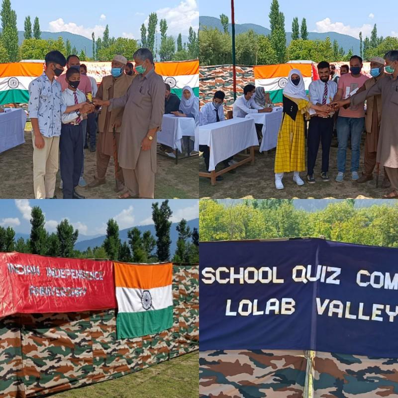 "Lolab Lions organises ""Inter School Quiz Competition"""