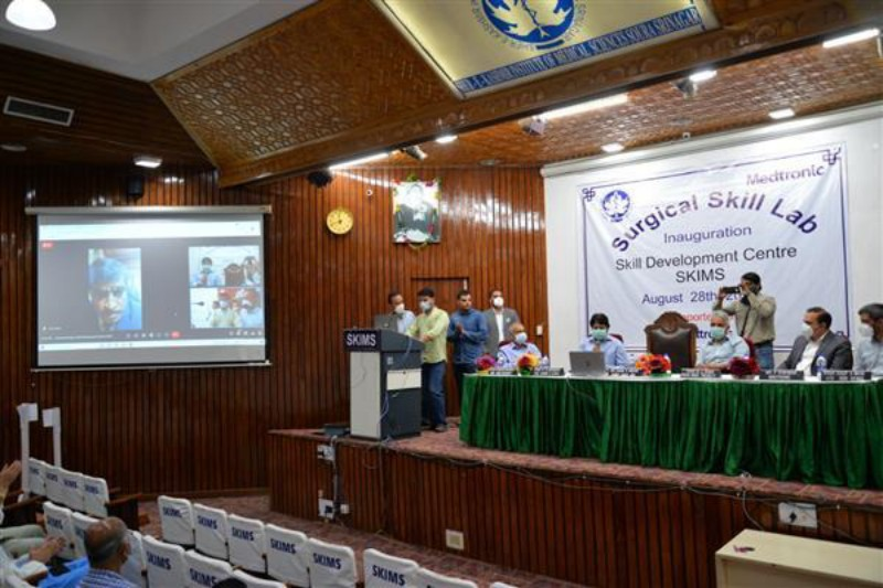 Sher-I-Kashmir Institute of Medical Sciences and Medtronic Partner to Open Surgical Skills Lab in Srinagar