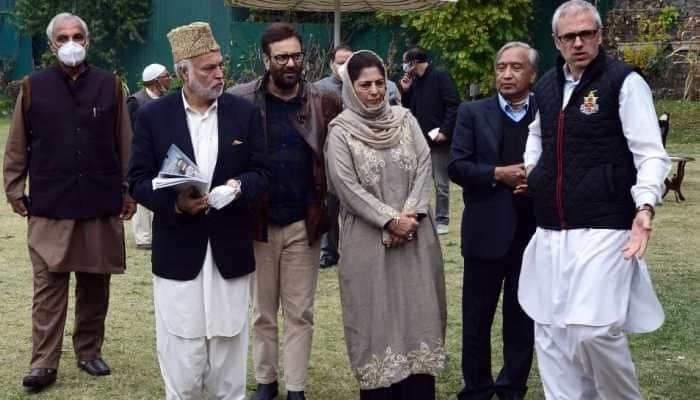 Hoax of BJP''s ''Naya Kashmir'' is a joke now: PAGD
