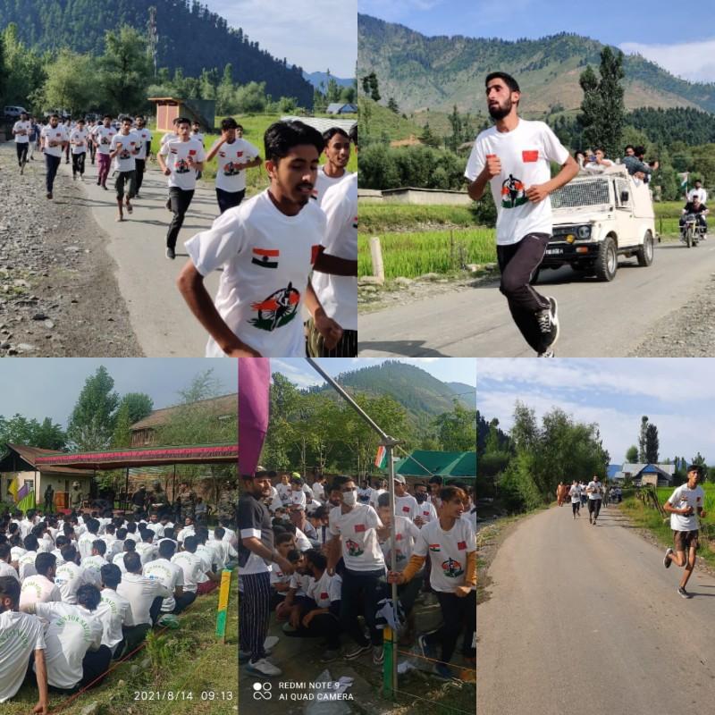 Kalaroos Runs For Nation on Azadi ka Amrut Mahotsav - Run organised by Indian Army
