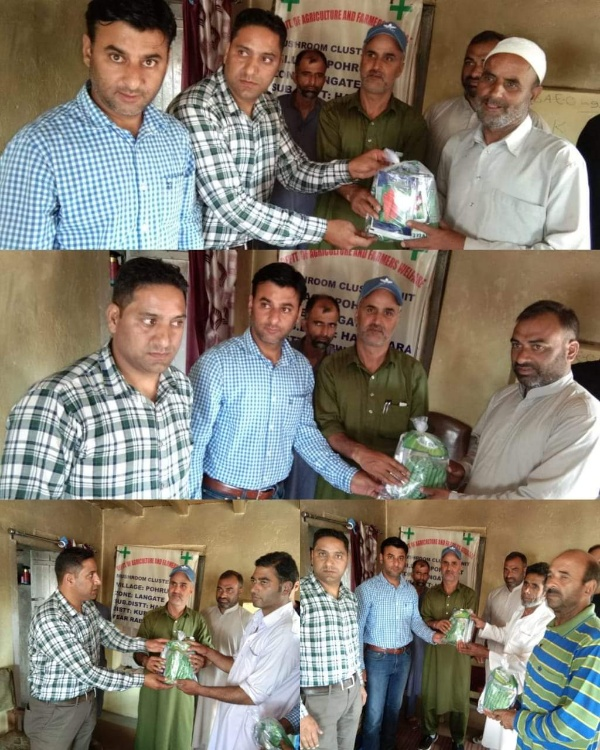 Distribution of Subsidized seeds at Agricultural Zone, Langate.