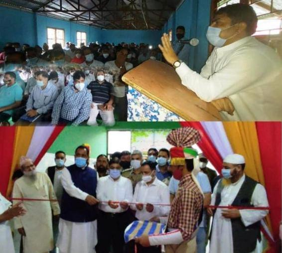 DDC Poonch listens to people's issues at Buffliaz, Inaugurates medical camp; visits JNV Surankote