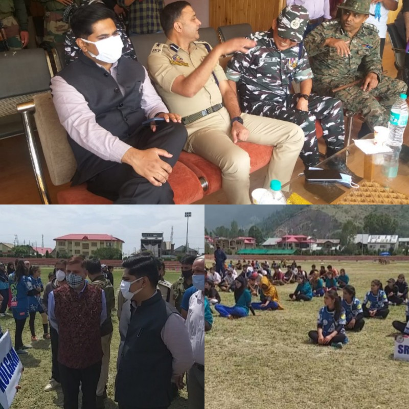 Bandipora Inauguration of Inter-District Rugby Championship at Sher-e-Kashmir Stadium