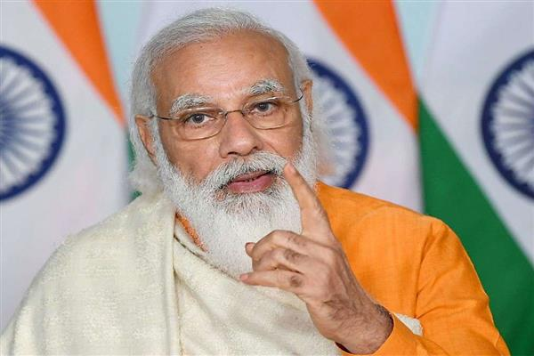 PM interacts with beneficiaries of food security scheme in UP