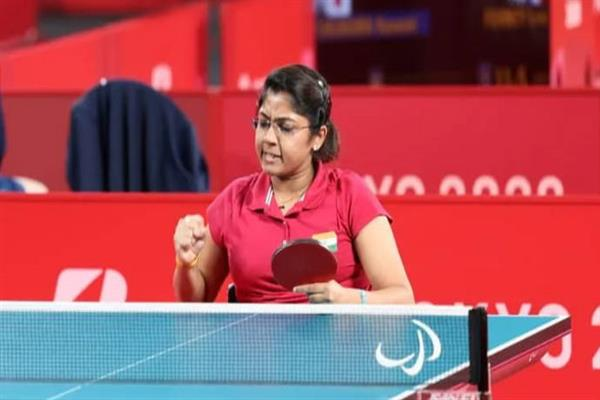 Bhavinaben Patel enters quarterfinals of Paralympics TT, becomes first player to do so