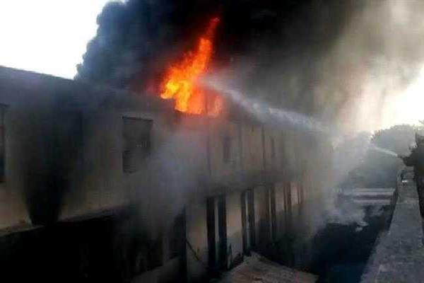 Fire breaks out at Delhi factory, no casualty