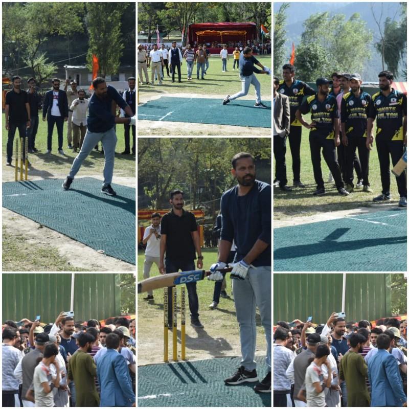 Karnah Hosts Renowned Cricket Star Mr. Yusuf Pathan