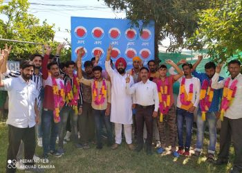 Youth continuous joining JKPC in Poonch : Er Rydhampreet Singh.