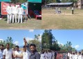 Department of youth service and sports zone villagam organised inter school zonal level cricket tournament at higher secondary school kukroosa.