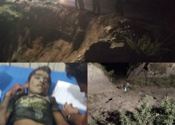 3 Persons Killed, 2 Children Injured As Vehicle Falls Into Gorge on Highway Near Digdol