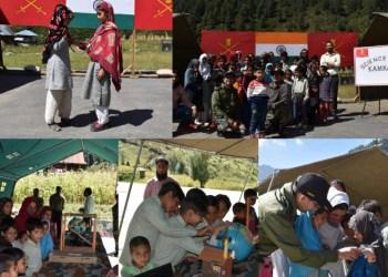 Science Day Celebrated at Kamkari Village Near Loc
