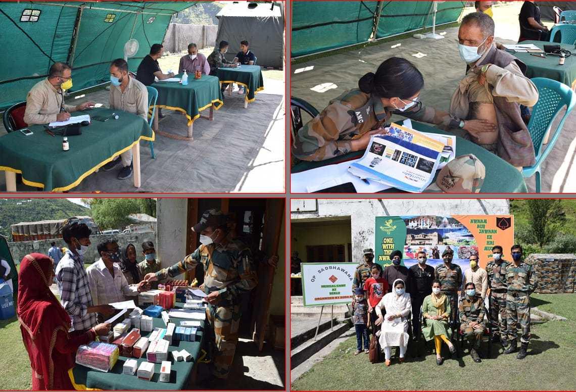 DODA BN Organised Medical screening camp at village Seklu