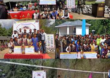Sawjian Volleyball Championship concludes, khakhi club jallian clinched the final
