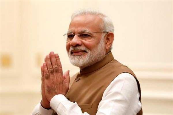 PM Modi greets people on Hindi Diwas