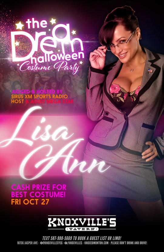 KnoxvillesLisa Ann Oct 27 flyer