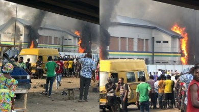 Photo of Lagos: 'Thugs torch police station in Orile Iganmu'