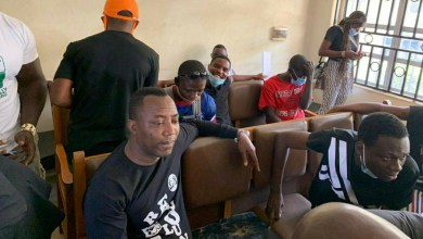 Photo of Court sends Sowore, 4 others to Kuje prison