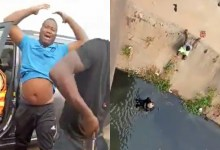 Photo of Driver knocks police officer off bridge during battle with LASTMA officials